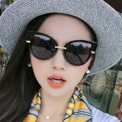 72409bab542 Korean version of the mercury mirror vintage sunglasses woman sunglasses  fashion sunglasses colorful
