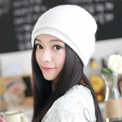 9ea318d29c Korean wave cute Siggi hats women winter wool hat thick windproof warm in  autumn and winter