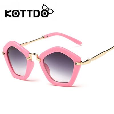 fd307d5a9a Qoo10 - KOTTDO Fashion Brand Designer Children Sunglasses Retro Metal High  Qua...   Fashion Accessor.