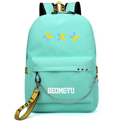 TXT Tomorrow X Together Canvas School Book Bag Sport Shoulder Backpack Rucksack