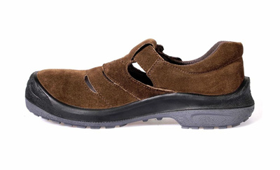 Qoo10 - KPR Safety Shoes Brown L-111 (Low Cut Sandal Type) *FREE SHIPPING BY Q...  Bags Shoes ...