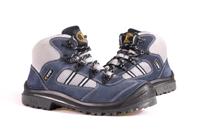 Qoo10 - KPR Safety Shoes Sport Navy M-027B (mid Cut Lace Up) *FREE SHIPPING BY...  Bags Shoes ...