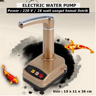 KS066 – ELECTRIC WATER PUMP POMPA GALON ELEKTRIK POMPA AIR MINUM