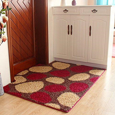 grandinroad adds grime pinterest to hand an on half best our images outdoor leaves mat doormats dahlia door and rugs entryway round beauty indoor contemporary mats hooked