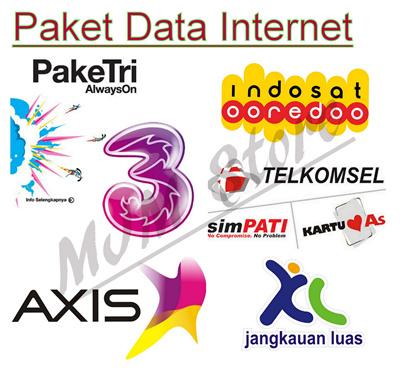 Qoo10 Kuota Besar Isi Ulang Paket Data Tri Xl Axis Telkomsel Dan