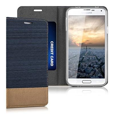la più grande selezione di economico per lo sconto qualità eccellente Qoo10 - kwmobile Flip Cover Case for > Samsung Galaxy S5 ...