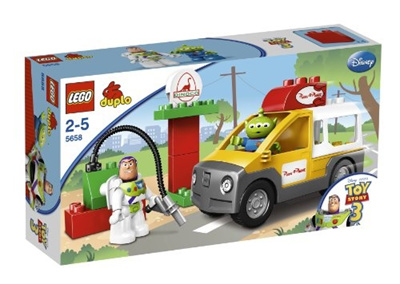 Qoo10 Lego Duplo Toy Story 5658 Pizza Planet Lastwagen 5658