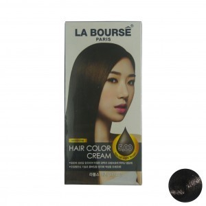 Qoo10 - La Bourse 97 Hair Color Cream 5.00 Natural Light Brown 60G ...
