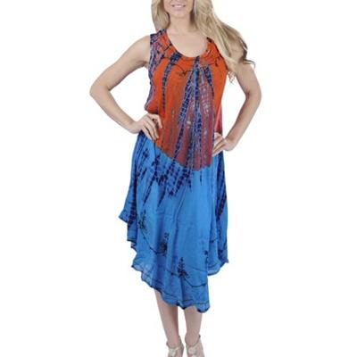 626dc6cf4c Qoo10 - LA LEELA Womens Beachwear Tie Dye Casual Bikini Swimwear Swimsuit  Cove... : Women's Clothing