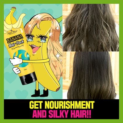 Label Young Instant Hair Treatment For Damaged Shocking Banana Pack