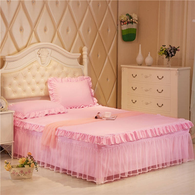 Lace Bed Sets Bed Cover Bed Skirt Bedspread Sheets 1.5.1 Meter. 8M