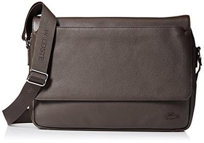 df679c8afff6a Qoo10 - (Lacoste) Lacoste Men s Rafael Leather Messenger Bag   Bag   Wallet