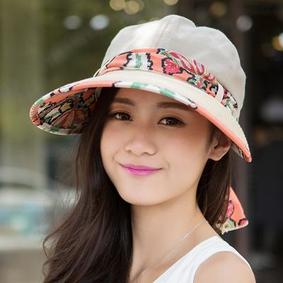 442797893f5 Ladies Sun Hat Korea version of summer along the Sun bonnet ladies summer  fashion women