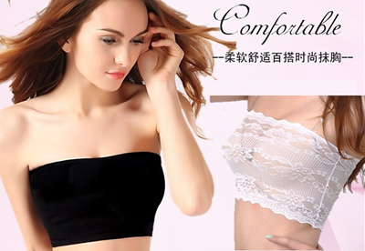 2356e58728e1f Qoo10 - Ladies Tube Top 001 - Buy 5 Get 1 Free   Underwear   Socks