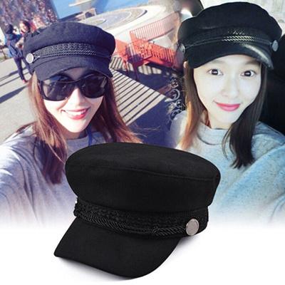 Ladies Womens Girls Wool Blend Baker Boy Peaked Cap Newsboy Hat Beret  Fashion 2eaa8b15fe19