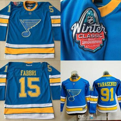 best service 52d6f 4a8f3 Lady #91 Vladimir Tarasenko Jersey, 2017 Winter Classic Premier Jersey St.  Louis Blues 100% Stitched