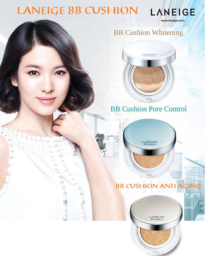 Laneige Bb Cushion Whitening Pore Control Anti Aging Plus Refill And Only Refill