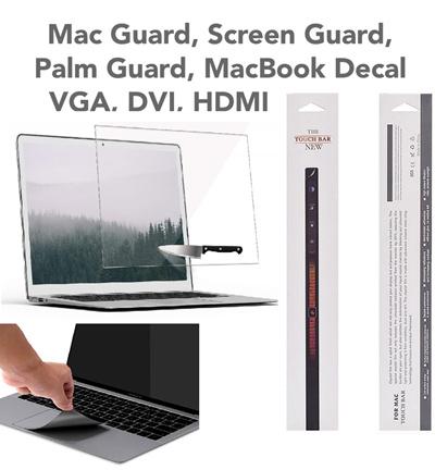 LAPTOP MacBook New Pro Air Retina 12 13 15 Touchbar STICKER Palmguard  Screen Protector Cover HDMI