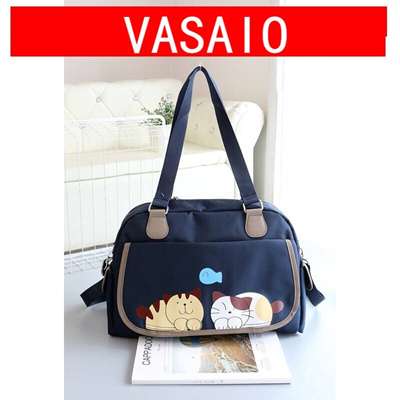 Qoo10 - Large-capacity cute travel bag short woman handbag cartoon gym bag  boa...   Men s Bags   Sho. a354de2b00742