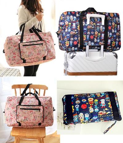 278a480a4 Large Cute Cartoon Portable bag/ Foldable travel bag/ Shopping bag/Melody/ Hello