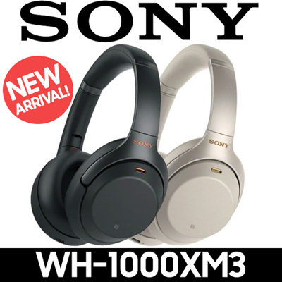 LATEST SONY WH-1000XM3 Wireless Noise Cancelling Headphones [FREE DELIVERY]