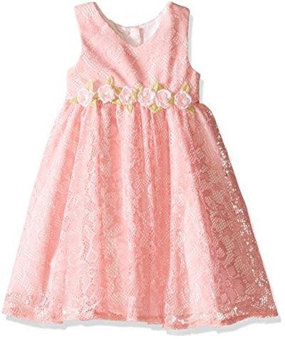 Qoo10 Laura Ashley London Little Girls Peach Lace Dress Kids Fashion