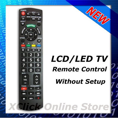 LCD LED TV Remote- Compatible for Panasonic