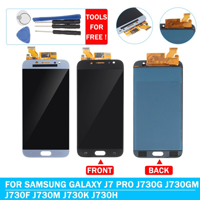 ec75c77d9b Qoo10 - LCD Touch Screen Digitizer Assembly + Repair Tools For Galaxy J7 Pro  J...   Computer   Game