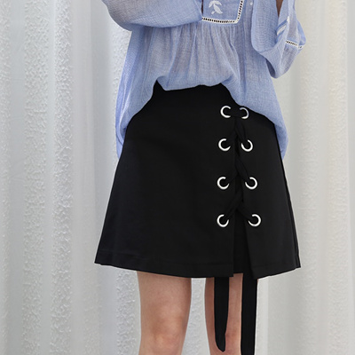 69f31597440ef Qoo10 - Le Hong  special spring fashion classic black Amoi Korean fan strap  an...   Women s Clothing