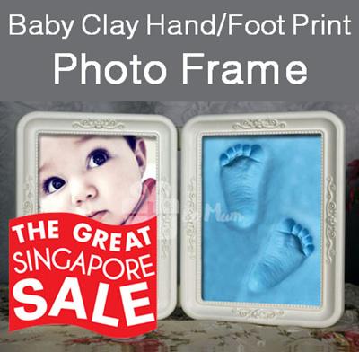 Qoo10 Baby Handprint Frame Baby Maternity