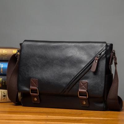 bda2ee1d4ad0 leather messenger bag   sling bag   men bag