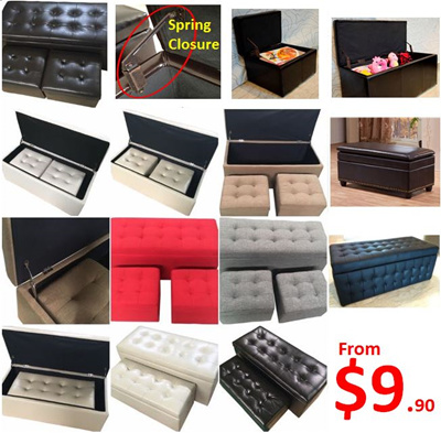 Leather Storage Stool?Office Chair?Ergonomic Chair?Toy Storage Box?Ottoman Seat & Qoo10 - Leather Storage Stool?Office Chair?Ergonomic Chair?Toy ... Aboutintivar.Com
