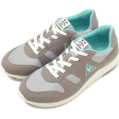 b482bf0d2d60 lecoq Lecoq Ladies LA SEINE LIFT Seine lift sneakers shoes feminine gray    mint (QL3MJC55GM