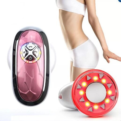 LED Light Photon Therapy Ultrasonic Cavitation Radio Frequency RF Slimming  Machine