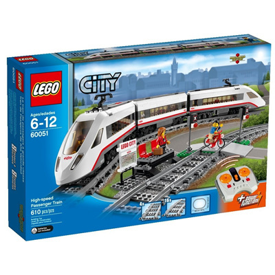 LEGO[LEGO]LEGO City Trains High-speed Passenger Train 60051