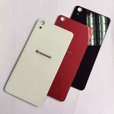 the latest 51ce1 32aab lenovo s850 case original glass back cover battery rear door housing s850  case sticker adhesive