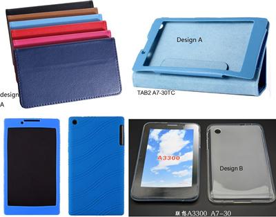 new arrival 5ce13 4b249 Lenovo Tab A7-30 (A3300) / TAB2 A7-30TC/HC casing flip cover tpu back case