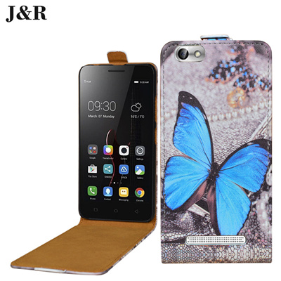 Lenovo Vibe C A2020 A2020a40 DS Cartoon Open Down Up Leather Cover a202051  a202053 Fashion Printing