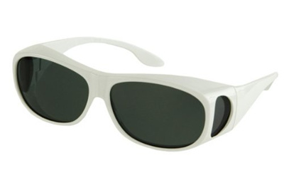 5d324ef3b6 LensCovers Sunglasses Wear Over Prescription Glasses. Polarized Size Medium.