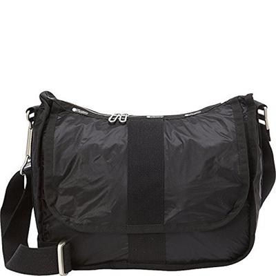 2a2c147d85c5 Lesportsac Essential City Hobo (True Black)