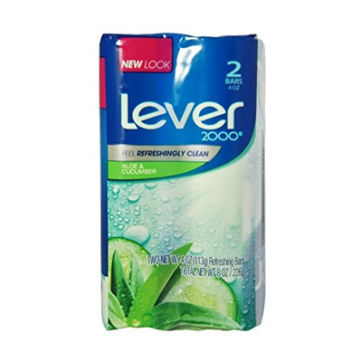 Qoo10 Lever 2000 Refreshing Bar Soap Fresh Aloe Cucumber 4 Oz 2
