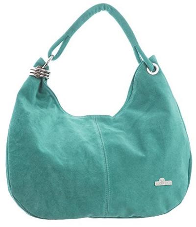 0153d0bdaa29 Qoo10 - (LiaTalia) LiaTalia Large Real Italian Suede Leather Single Strap  Hobo...   Bag   Wallet