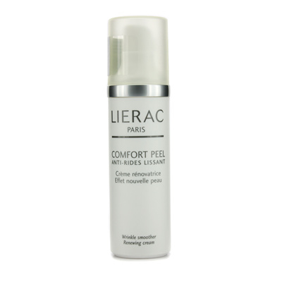 Lierac - Comfort Peel Wrinkle Smoother Renewing Cream -40ml/1.36oz 5 in 1 Derma Roller Needle Skin Care kit Acne Scar Anit-Aging 0.5+1.5+2.0+3.0mm