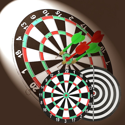 Charmant Dart Board ☆ 12 Inch / 15 Inch Dartboard Sports At Home Office