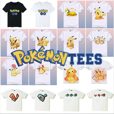 96d3151fd6ec5 Pokémon Tees Collection 2 ☆ Many Designs! Unisex Pocket Monsters Pikachu  Family T-