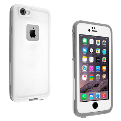 quality design 37850 0929d LifeProof Fre Case for iPhone 6 Plus/6S Plus (White/Gray) (Color:  White/Gray)