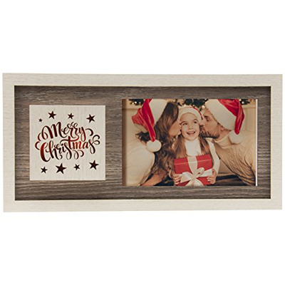 Qoo10 Light Up Merry Christmas Wood Picture Frame Stationery