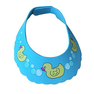 2d9f8ea7e13 Lightahead® Safe Shampoo Swimming Duck Baby Shower Cap Bathing Protection  Soft Cap Hat Wash Hair