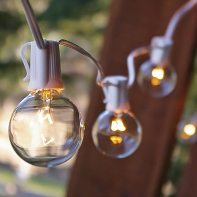 Captivating [LIGHTS FOR ALL OCCASIONS] SVC9100WHG50CL   Globe String Light, 50 Feet,  White Amazing Ideas