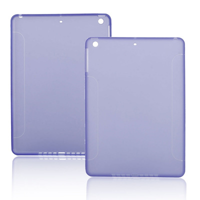 Qoo10 - Lightweight TPU Back Cover Case for iPad Air Air2 Purple   Women s  Clothing c38ba0bf1e